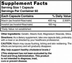 Niacin 400 mg No Flush
