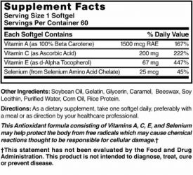 Antioxidant with Vitamins A/C/E and Selenium