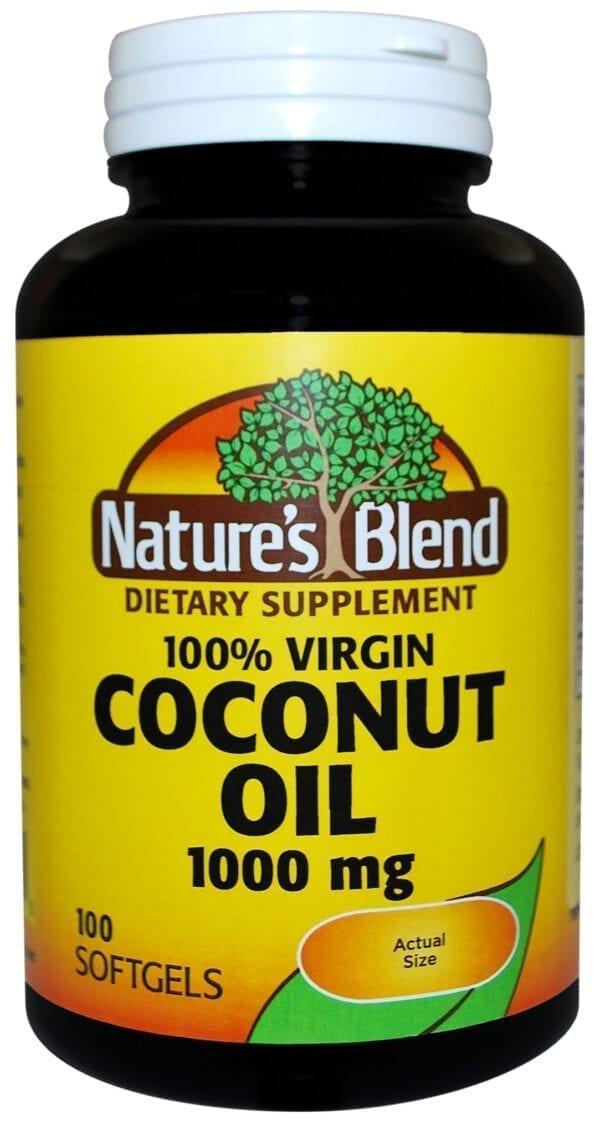 100% virgin coconut oil