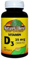 vitamin d3 25 mcg 1000 iu