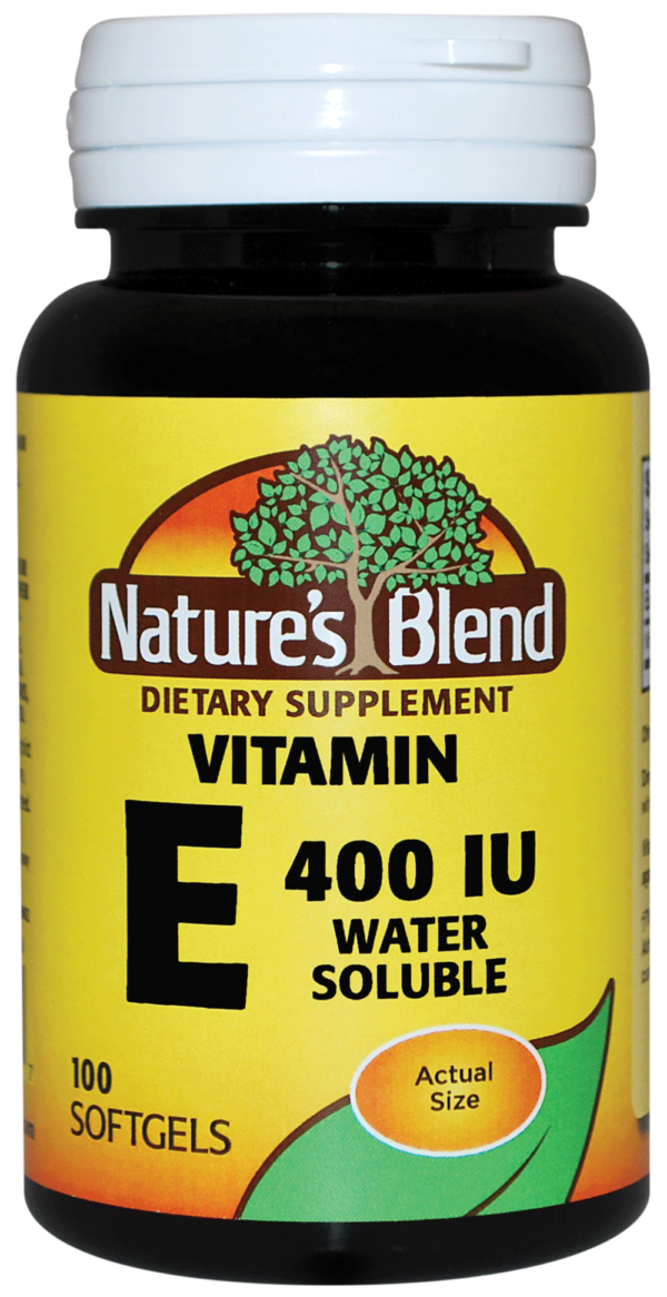 vitamin e water soluble