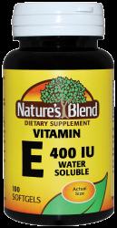 vitamin e water soluble