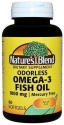 omega-3 fish oil odorless