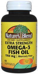nature's blend omega-3 fish oil 1760 mg