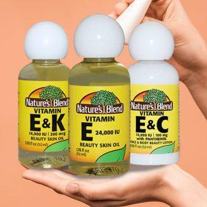 Vitamin Oils & Lotions